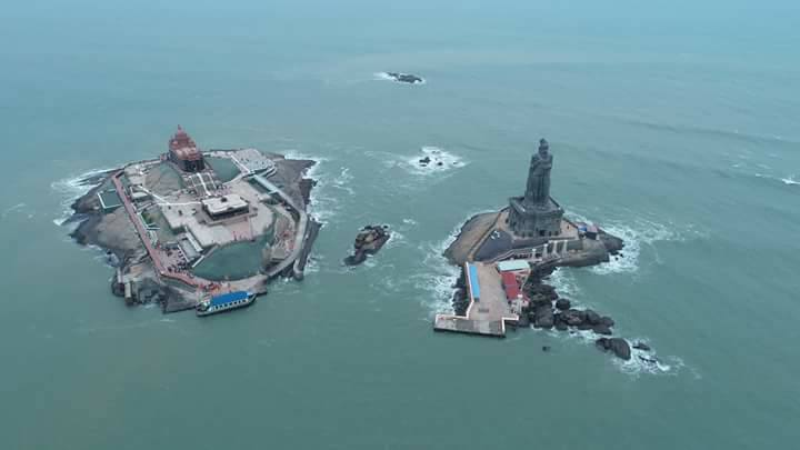 Kanyakumari Top View